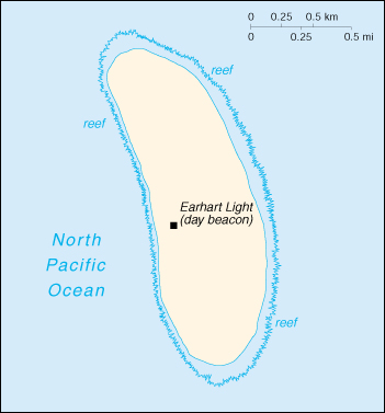 Howland Island On World Map.Cia The World Factbook 2000 Howland Island